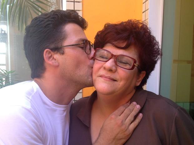 Fernando Pini, Sueli Pini, mãe, dia das mães, Amapá, Macapá, adoção, família, (Foto: Fabiana Figueiredo/G1)