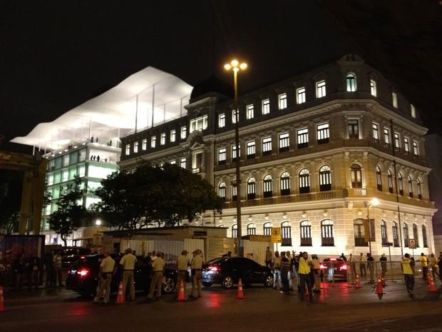 foto nova Museu de Arte do Rio inauguração Rio de Janeiro (Foto: Henrique Porto/G1)