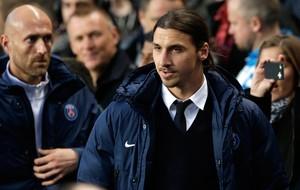 Ibrahimovic, Chelsea x PSG (Foto: AP)
