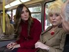 Kate Middleton e Príncipe William andam de ônibus em Londres