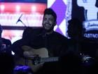 Gusttavo Lima comemora aniversário em show