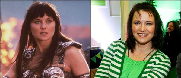 'Xena: A Princesa Guerreira' (1995–2001) teve Lucy Lawless quando esta tinha entre 26 e 33 anos de idade (Foto: Getty Images)