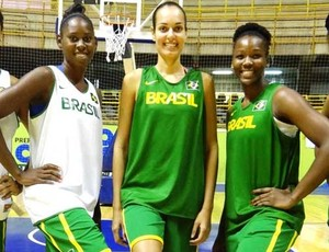 Fabiana Caetano são josé basquete feminino brasil (Foto: Divulgação/CBB)
