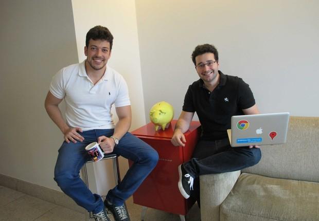 Israel Salmen (à esquerda) e Ofli Guimarães, fundadores da Meliuz (Foto: Divulgação)