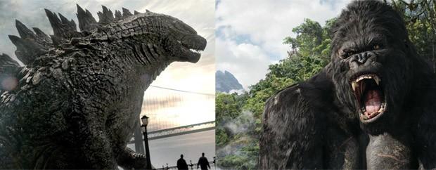 Estúdios confirmam lançamento de 'Godzilla x King Kong'