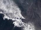 Satélite fotografa vulcão no Chile
