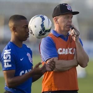 Malcom Mano Menezes (Foto: Daniel Augusto Jr. / Agência Corinthians)