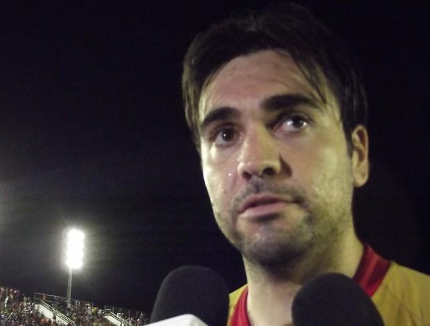 Andrey, goleiro do América-RN (Foto: Tiago Menezes)
