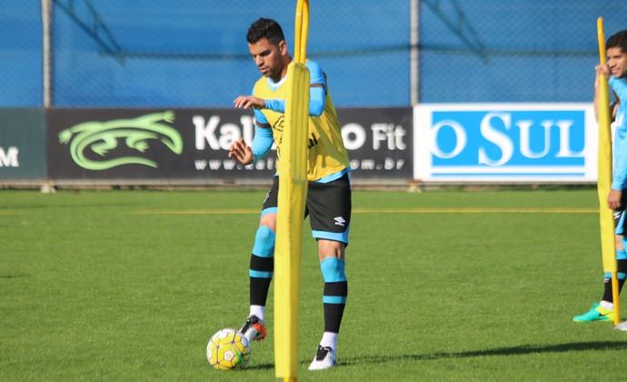 Maicon Grêmio (Foto: Eduardo Moura/GloboEsporte.com)