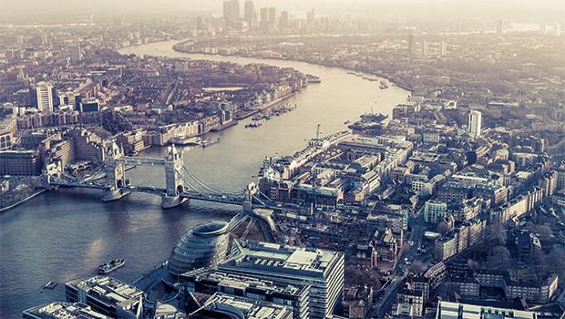 Rio Tâmisa l Inglaterra, Londres (Foto: Tim E White/Getty Images)