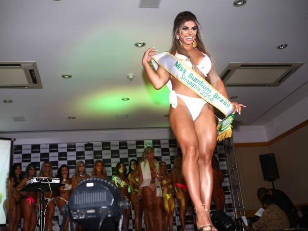 Vivian Cristinelli foi eleita Miss Simpatia no Miss Bumbum 2014 (Foto: Iwi Onodera/ EGO)