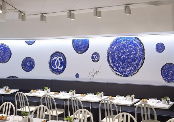 Colette x Chanel: até a cafeteria da boutique entrou no clima (Foto: Reprodução)