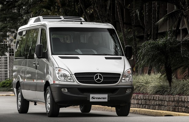 Mercedes benz lan a sprinter de luxo auto esporte an lises for Mercedes benz sprinter 2014