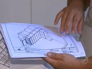 Loja de móveis planejados fecha e clientes ficam sem armários (Foto: Reprodução/ TV TEM)