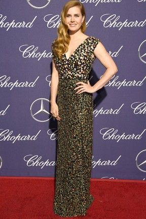 Amy Adams em festival e cinema em Palm Springs, Califórnia, nos Estados Unidos (Foto: Frazer Harrison/ Getty Images/ AFP)
