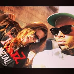 Rihanna e Chris Brown (Foto: Instagram/ Reprodução)