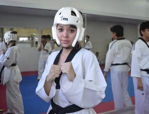 Lohanne Taekwondo (Foto: Jonhwene Silva/GE-AP)