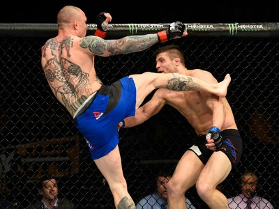 Anthony Smith x Andrew Sanchez UFC Kansas City (Foto: Getty Images)