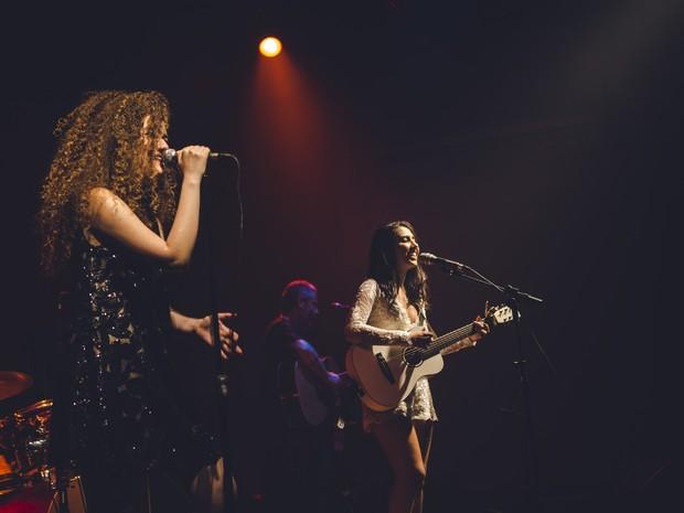 Anavitória realizaou primeiro show onde dupla se conheceu (Foto: Vinicius Cantuares/Divulgação)