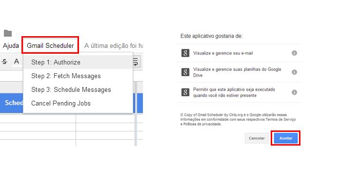Autorize o acesso dos seus dados pelo script (Foto: Reprodução/Paulo Alves)