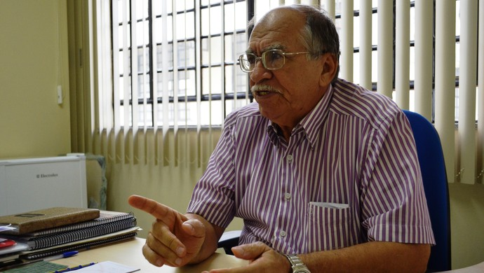 Ary Rezende, diretor de futebol do Sergipe (Foto: Felipe Martins/GLOBOESPORTE.COM)