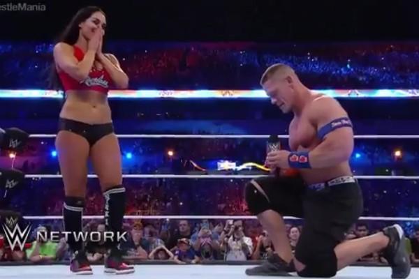John Cena e Nikki Bella (Foto: Reprodução)