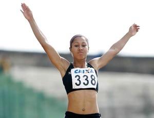 Brasileira Jéssica Reis assume liderança mundial do salto em distância no juvenil (Foto: Marcelo Ferrelli / CBAt)