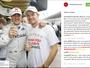 Perfil oficial de Schumacher dá os parabéns a Rosberg por título mundial