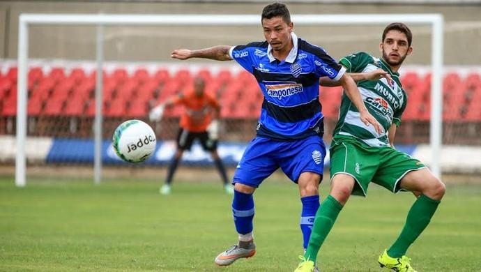 Amistoso CSA x Murici, Rei Pelé (Foto: Ailton Cruz/Gazeta de Alagoas)