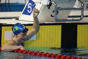 Manuella Lyrio bronze 200m livre Pan de Toronto natação (Foto: Satiro Sodré / SSPress)
