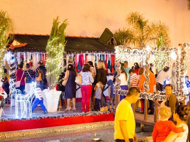 Abertura do Natal 2014 em Barra Mansa (Foto: Gabriel Borges/Prefeitura Barra Mansa)