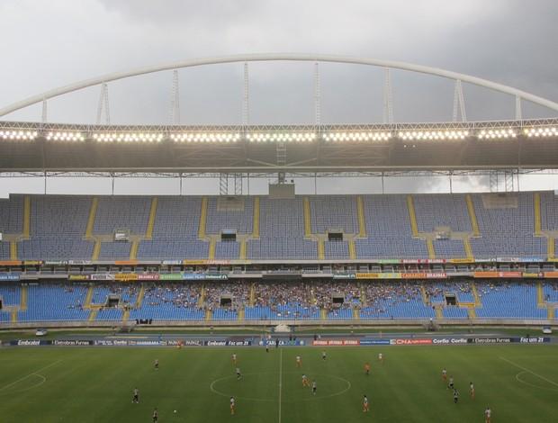 Engenhão Botafogo x Duque de Caxias (Foto: Gustavo Rotstein / Globoesporte.com)