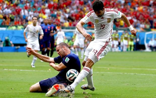 Diego Costa jogo Espanha x Holanda (Foto: Reuters)