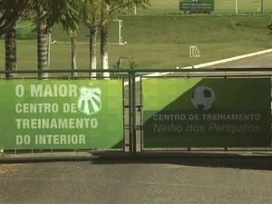 Pré-temporada da Caldense no Ninho dos Periquitos deve começar em dezembro (Foto: Reprodução EPTV)