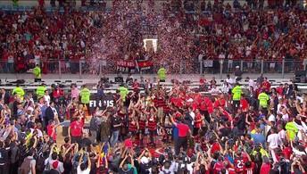 Flamengo vence o Bauru e e campeão do NBB