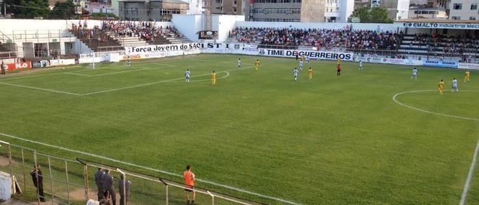 Social goleia o Minas Boca na tarde deste sábado (7) (Foto: Maurício Oliveira/Inter TV dos Vales)