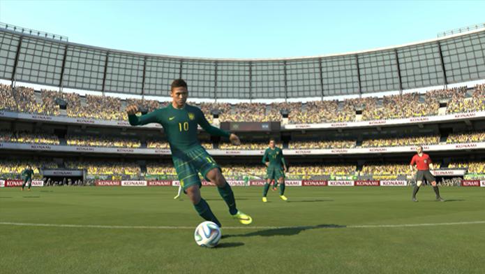 Neymar e a nova camisa do Brasil (Foto: Reprodução/Murilo Molina) (Foto: Neymar e a nova camisa do Brasil (Foto: Reprodução/Murilo Molina))