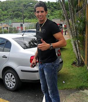 Victor Ramos na Toca do Leão (Foto: Divulgação / EC Vitória)