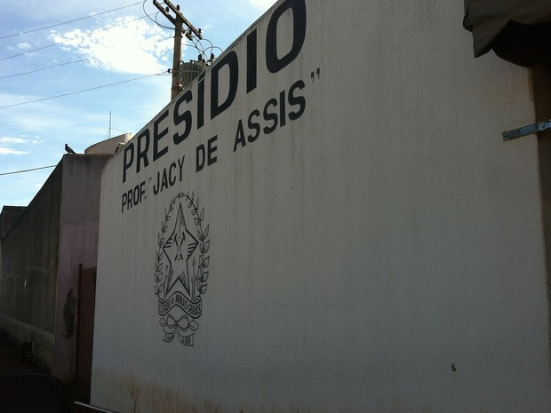 Presídio de Uberlândia Professor Jacy de Assis (Foto: Caroline Aleixo/G1)
