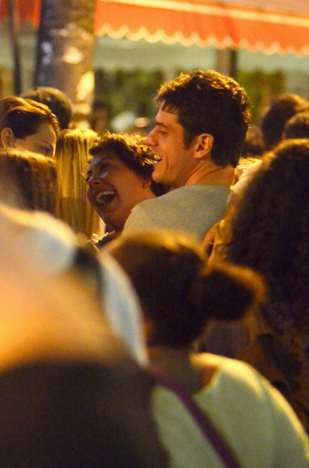 Marco Pigossi e Fabiula Nascimento (Foto: Agnews)