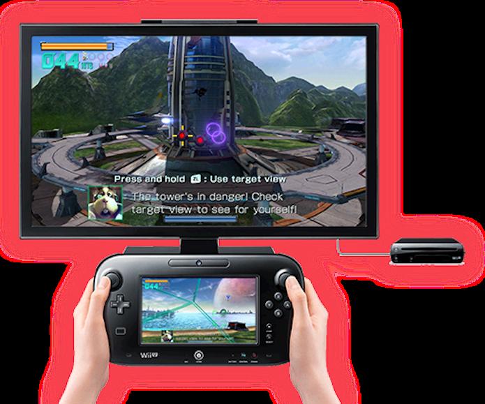 Controlar duas telas não é tarefa fácil em Star Fox Zero (Foto: Divulgação/Nintendo)