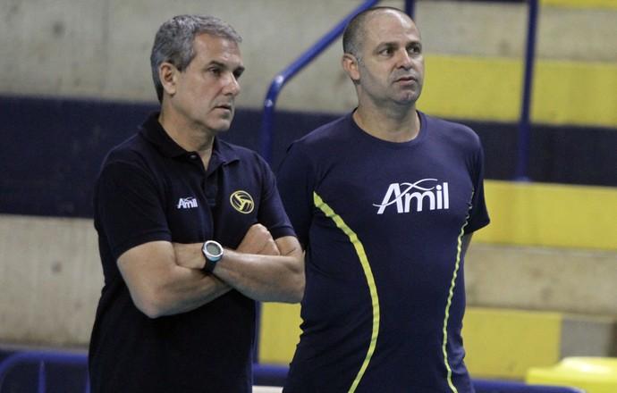 Zé Roberto e Paulo Coco trabalharam juntos no Campinas até 2014 (Foto: Felipe Christ/Divulgação)