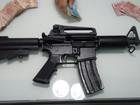 PM apreende fuzil 556 e recupera Hilux roubada de 'cegonha' em Natal