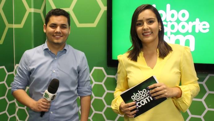 Programa é apresentado pela repórter Natália de Oliveira e conta com a participação do editor do site, Marcus Vinicius Souza (Foto: Luiz Ferreira)
