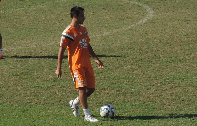 Martinuccio treino do Fluminense (Foto: Sofia Miranda)