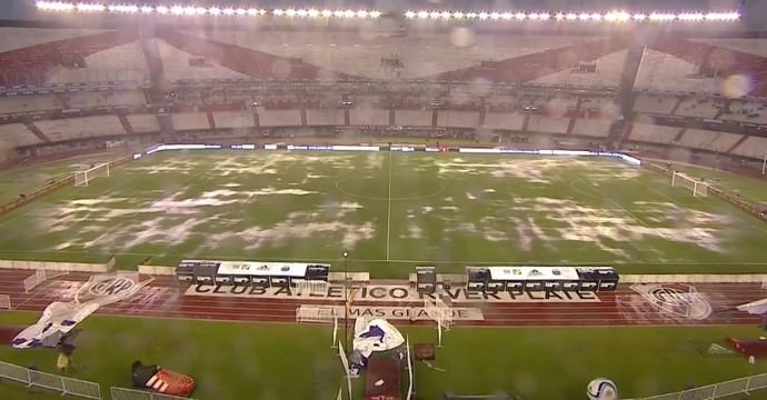 Tempestade em Buenos Aires deixa estádio de Argentina x Brasil alagado bf2a3c47f4243