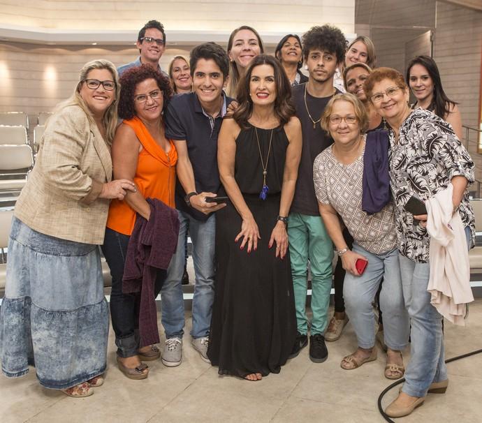 Plateia do 'Encontro' (Foto: Fábio Rocha/Gshow)