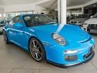 Salão de Carros traz único Porsche 911 GT3 azul do país para Goiânia