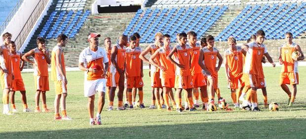 Campinense, treino (Foto: Magnus Menezes / Jornal da Paraíba)