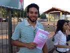 Enem foi 'fácil', mas teve 'chute', dizem candidatos em Santarém no 1º dia